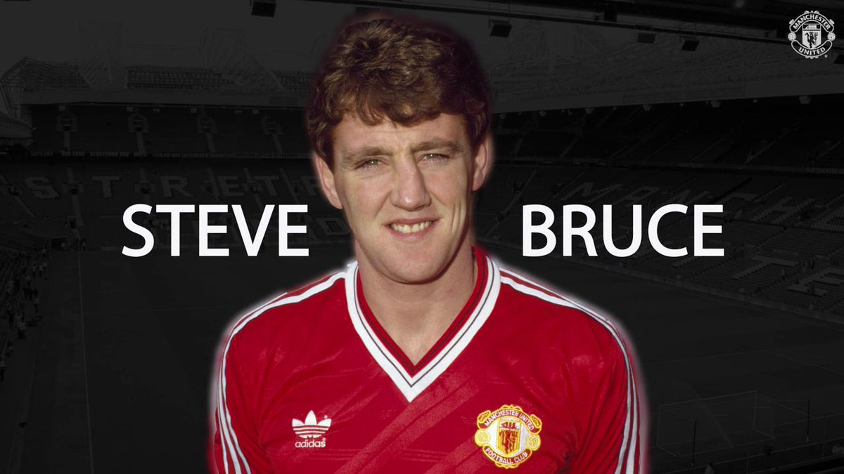 We're also wishing former #MUFC defender Steve Bruce a big happy birthday today! 🎈