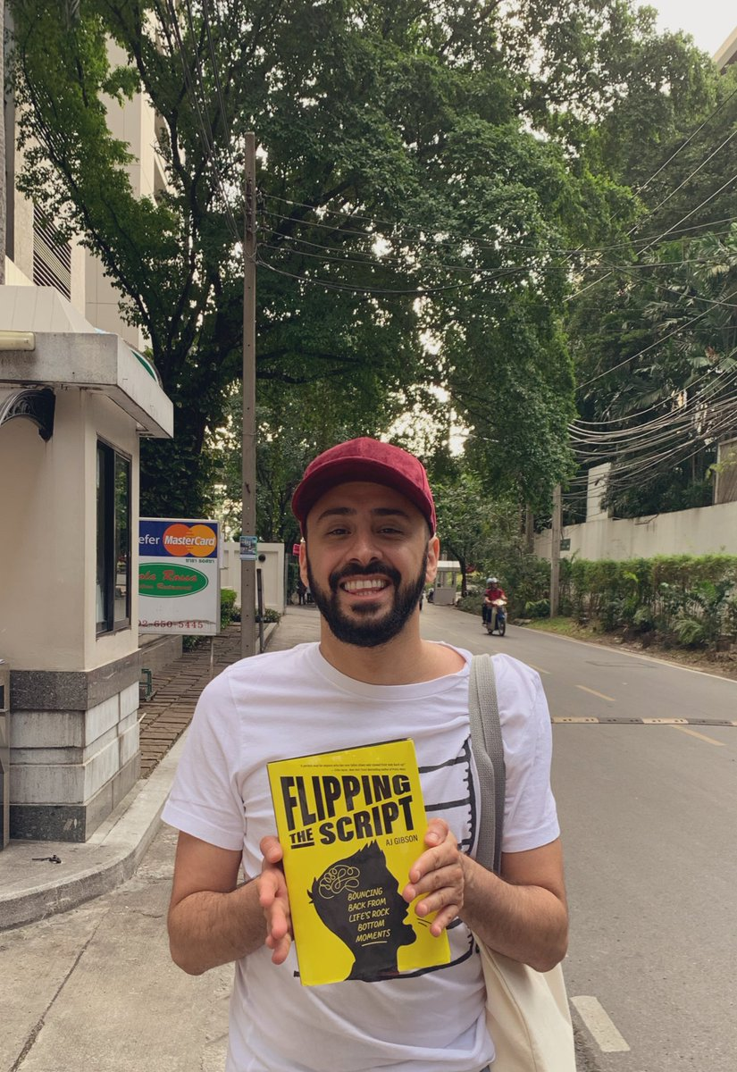 Finally got this book shipped to Thailand! 📚 🇹🇭 #FlippingTheScript @AJGibson