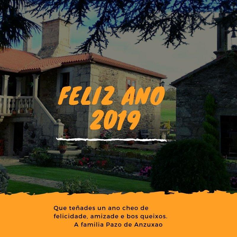 Por un 2019 cheo de felicidade, saúde, amizade e bos queixos.  #Felizano #Feliz2019 #FelizAnoNuevo