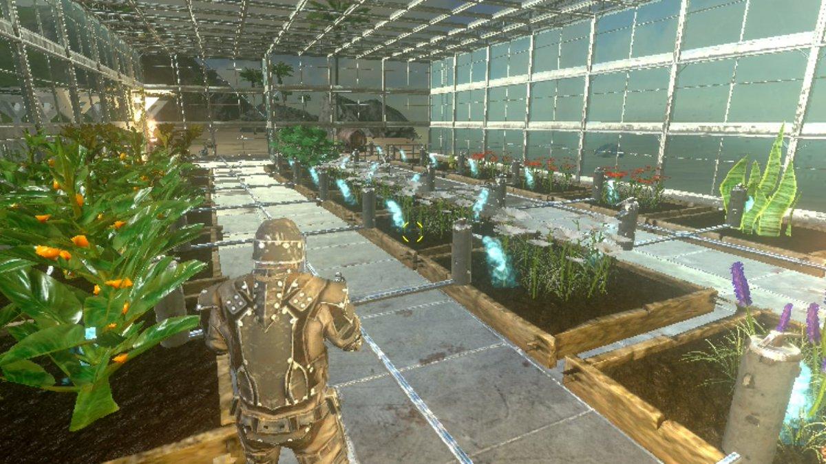 モバイル 菜園 Ark