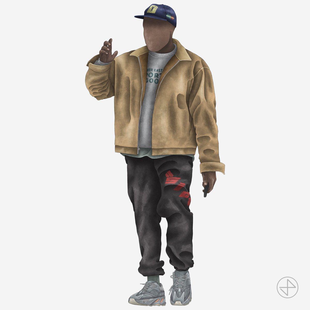 the latest 749f0 1bf72 The last #YEEZYFITOFTHEWEEK in 2018 is ye wearing a ...