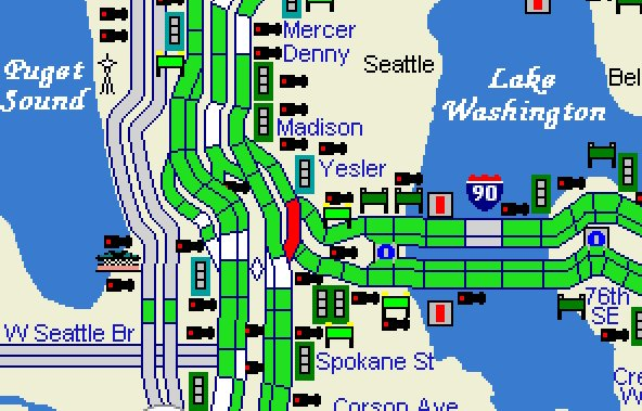 Wsdot Traffic On Twitter Ooh We Finally Have A Little Color In