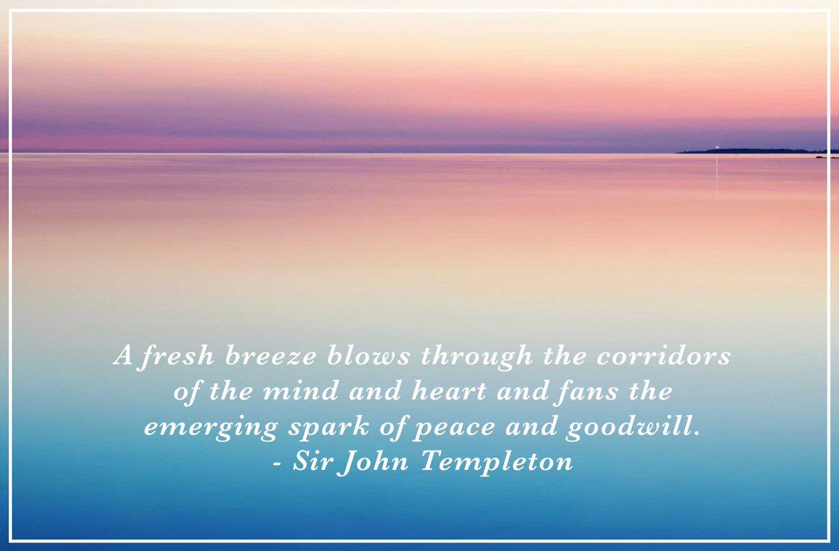 #motivationmonday #sirjohntempleton #quoteoftheday #peace #newyearseve