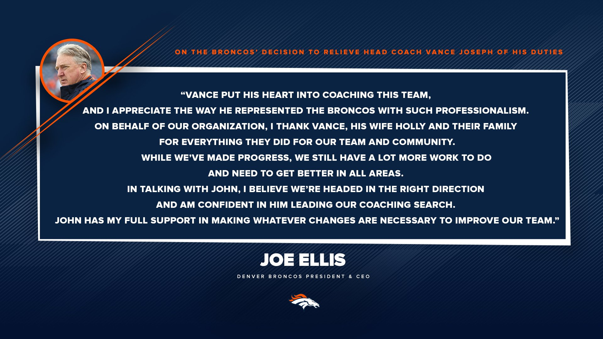Denver Broncos On Twitter Statements From Pres Of Football Opsgm