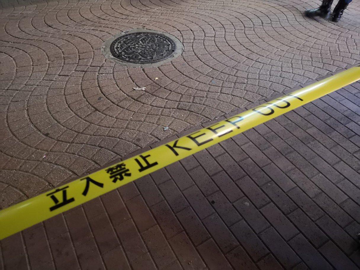 画像,警視庁24時。事故により竹下通り封鎖(普通に事故あったそうです https://t.co/JcxTsjjf6b。
