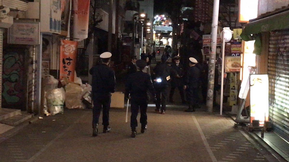 竹下通りの無差別テロ事件の現場画像