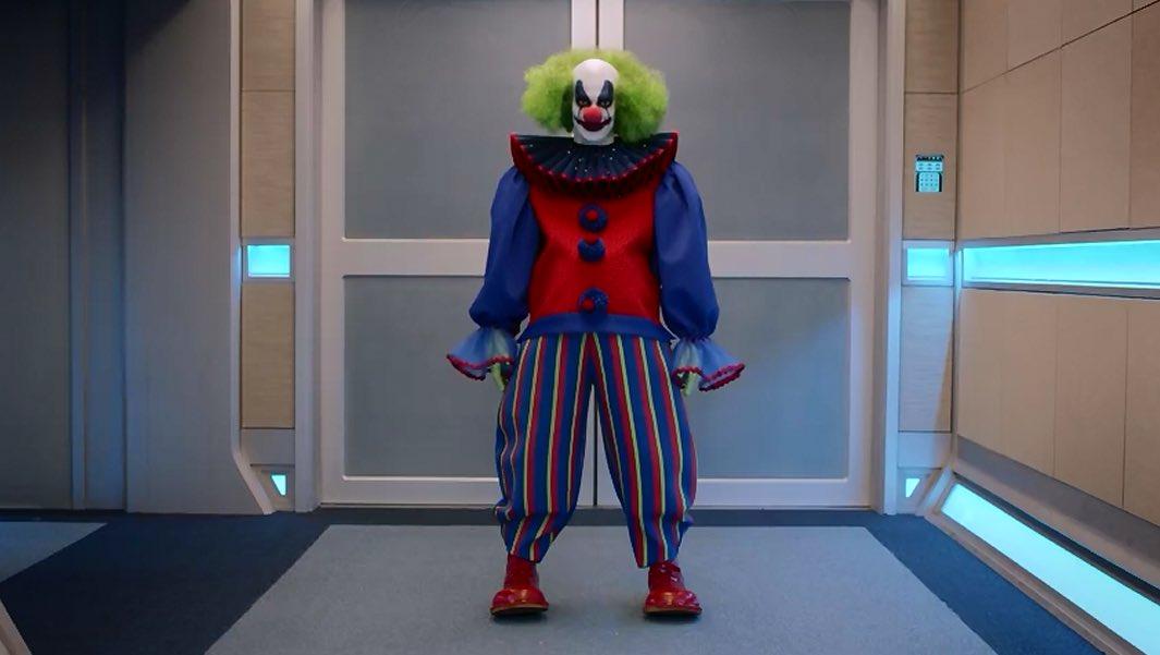 Clown auf der Orville in der Episode Feuersturm