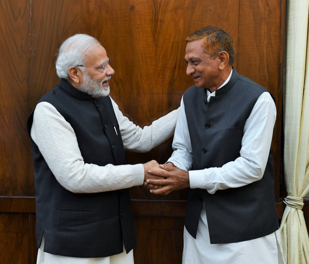 Kunvarji Bavaliya meets PM Narendra Modi; says several Congress leaders wishing to join BJP in his contact