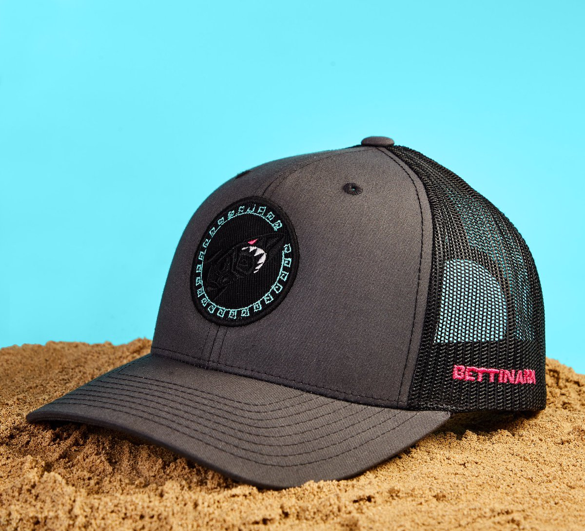 The 2019 Tiki trucker hat is here! Releasing online in the Hive on 1 ... d2c32f80ade