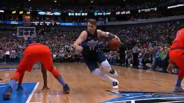 Luka was out here disrespecting the Thunder last season