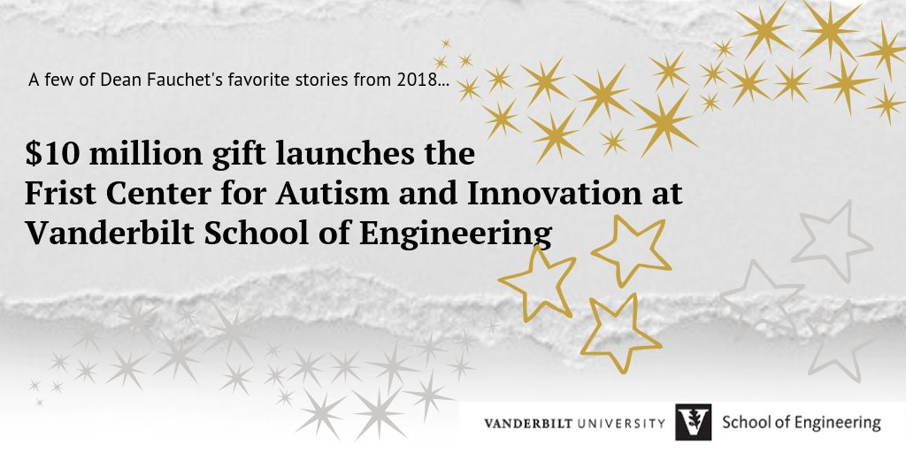 Vanderbilt University Launches Frist >> Vu Engineering On Twitter Among Dean Fauchet S Favorite Stories