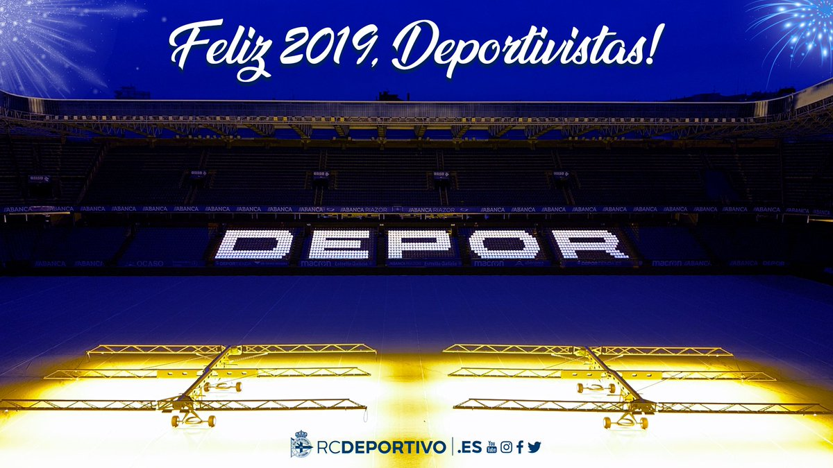 FELIZ 2019 #DEPORTIVISTAS!