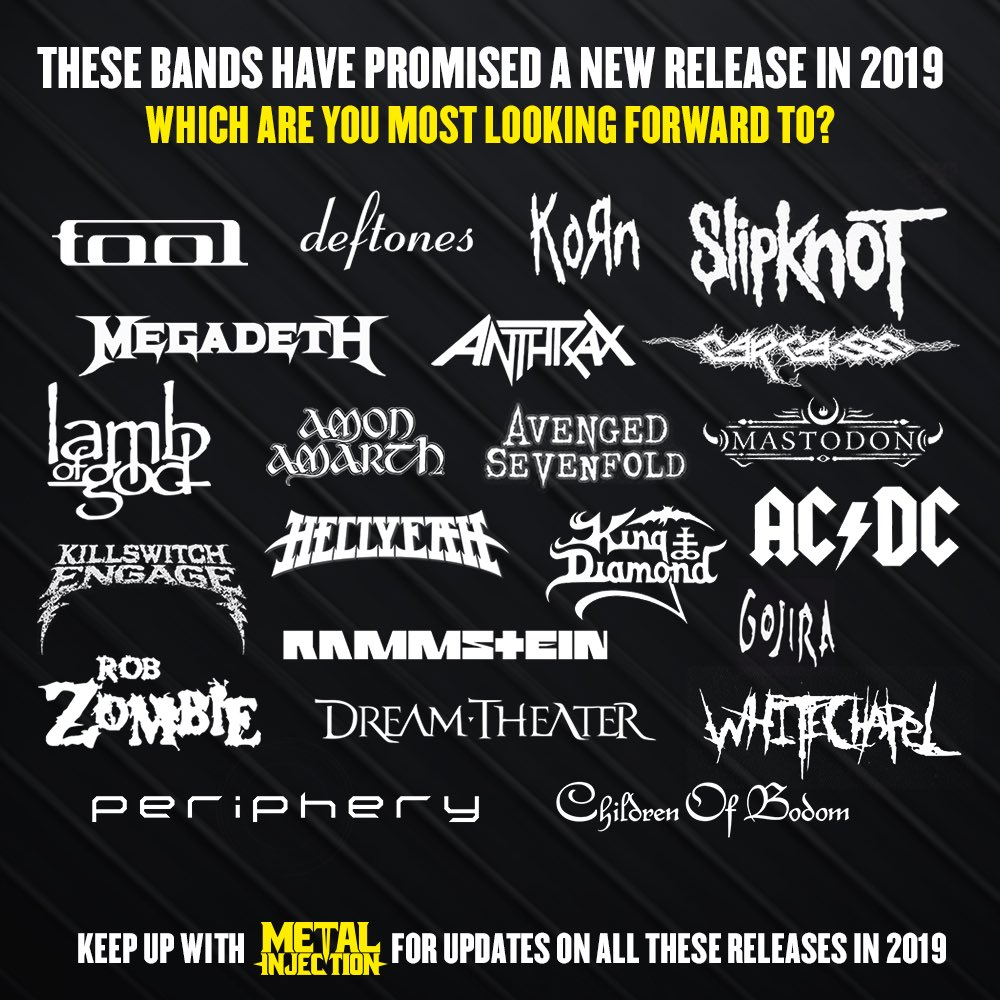 New Metal Releases 2019 Metal Injection on Twitter: