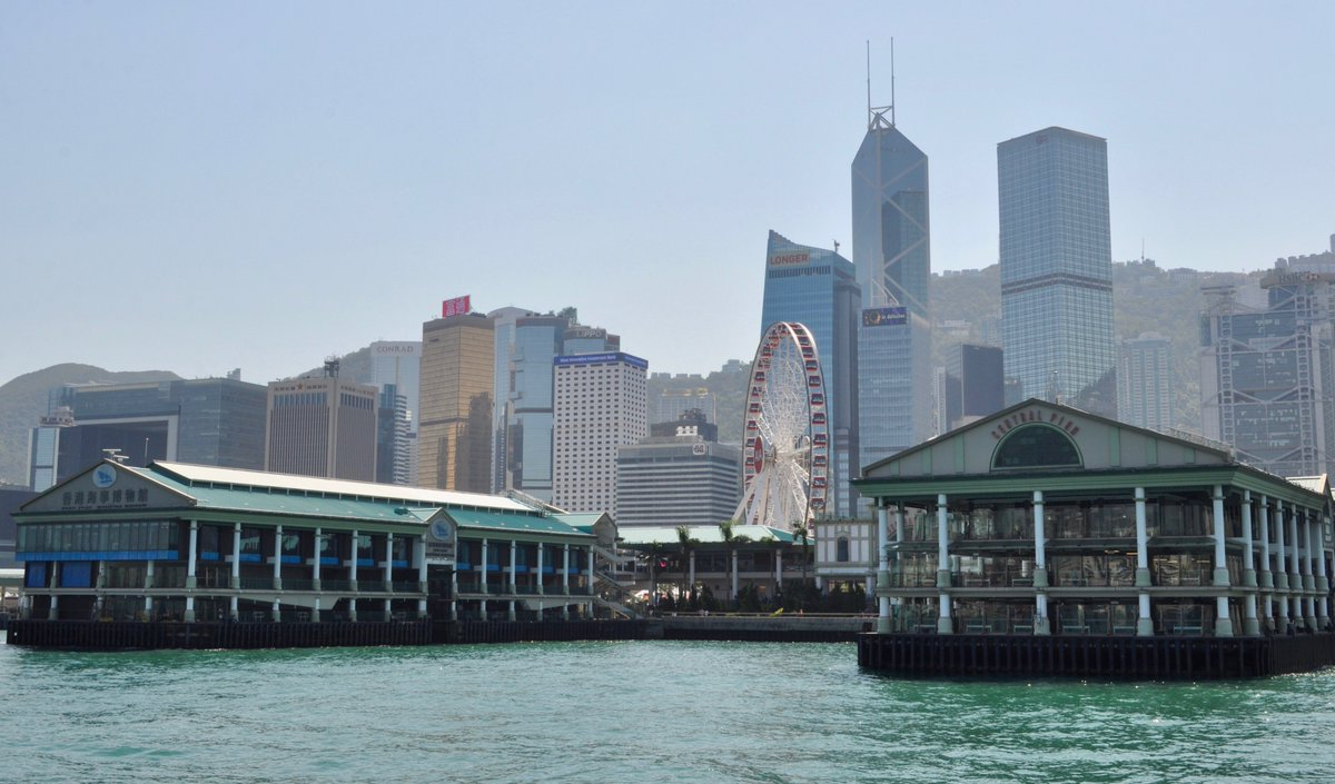Kota Hongkong. (Twitter/Doug McFayden @TruckerDougYEG)
