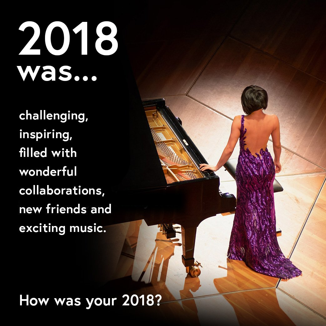Reloaded twaddle – RT @YujaWang: HAPPY NEW YEAR!!! 🎶🎹🥂❤️...