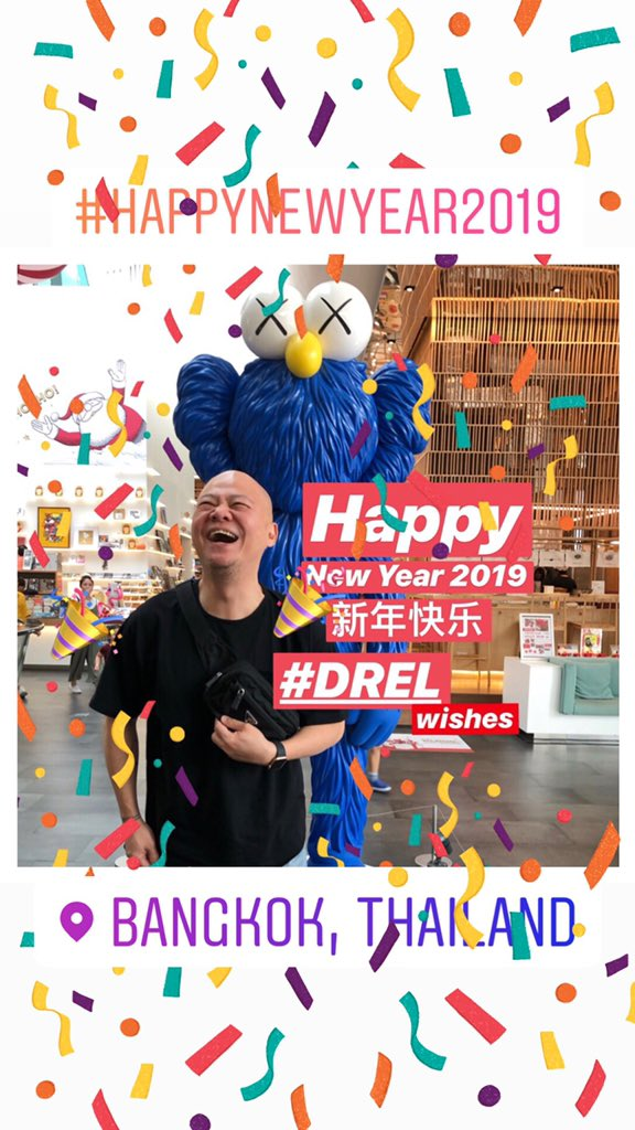 Dr Eric Leong On Twitter It S 2019 Happy New Year 2019 Have A Great Year Ahead Guys Warmest Regards From Bkk Drel Lovelifeloveall Happynewyear2019 Https T Co T3mheh5deh