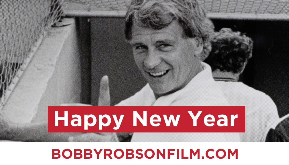 Happy New Year from everyone @bobbyrobsonfilm team...  Thank you so much to all of you for your support and help making it such an amazing year... Inspired once again by Sir Bobby Robson....  2019 Be #MoreThanAManager #HappyNewYear2019