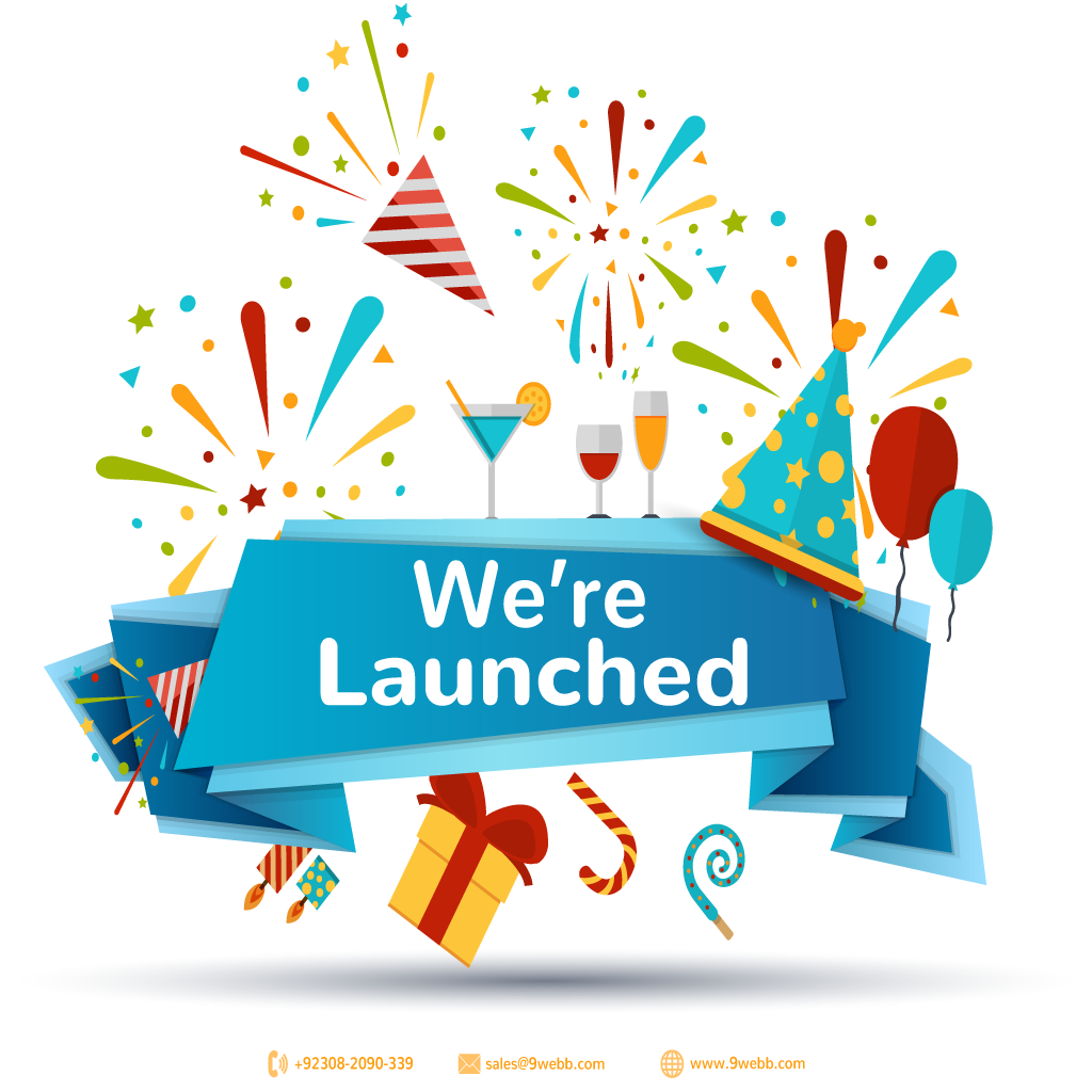 We're Launched Successfully   http:// bit.ly/9WebbOfficial      | sales@9webb.com | +92308 2090 339 | #9Webb #Webhosting #BrandedSMS #SMSmarketing #EmailMarketing<br>http://pic.twitter.com/qwKjA6R9Jf