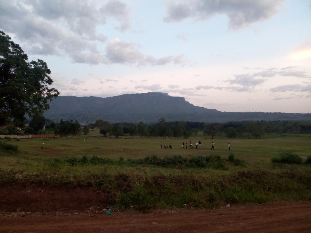 A cool eve of 2019 with the view of western part of Mt Elgon Eastern Africa. Still on duty,can u imagine!,. To all my followers and followed, I don't take u for granted, always impressed to connect n share with u on social media, please accept my best wishes to u all in 2019 .