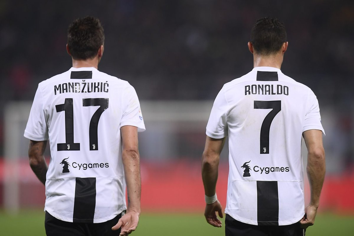 LE #PAGELLE DEL 2018, #RONALDO IL #BOOM, MA IL #MIGLIORE E' UN ALTRO! 7️⃣🦓1️⃣7️⃣⚪️⚫️➡️ https://bit.ly/2GLXvzS  #Juventus #MarioMandzukic #CristianoRonaldo #MM17 #CR7 #LOnnipotente #Marione