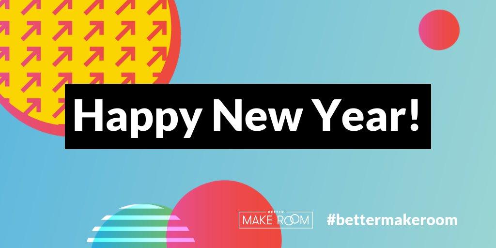 HAPPY NEW YEAR 2⃣0⃣1⃣9⃣! We hope this is your best year yet! #HappyNewYear2019 #BetterMakeRoom 🎉