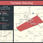 Image for the Tweet beginning: Tornado Warning including Mauckport IN,