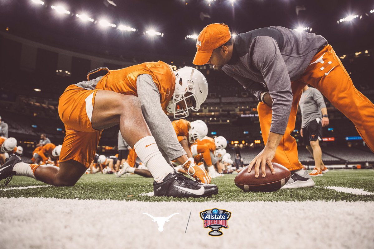 Looking forward to finishing out this year the right way #Hookem #ThisIsTexas