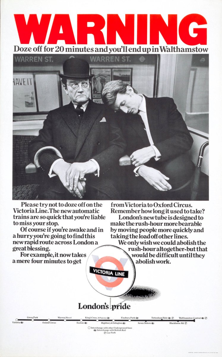 DvxrziqWkAEzj7F - The Victoria Line's really big 50th birthday! #2