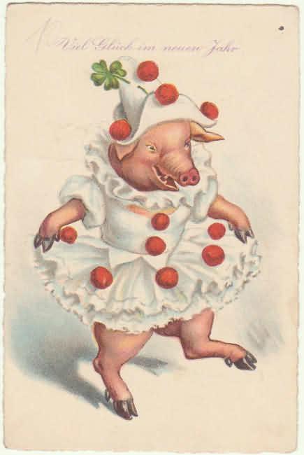 картинки для декупажа свиньи новогодние диван может стать