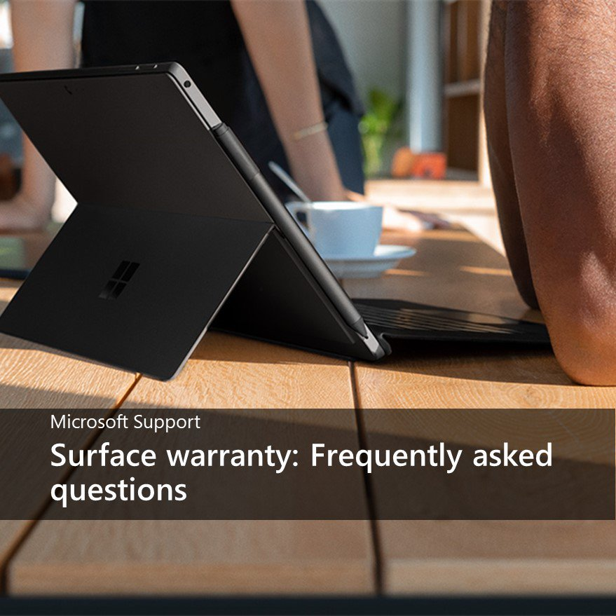 Microsoft Support On Twitter Just Bought A New Surface And Want