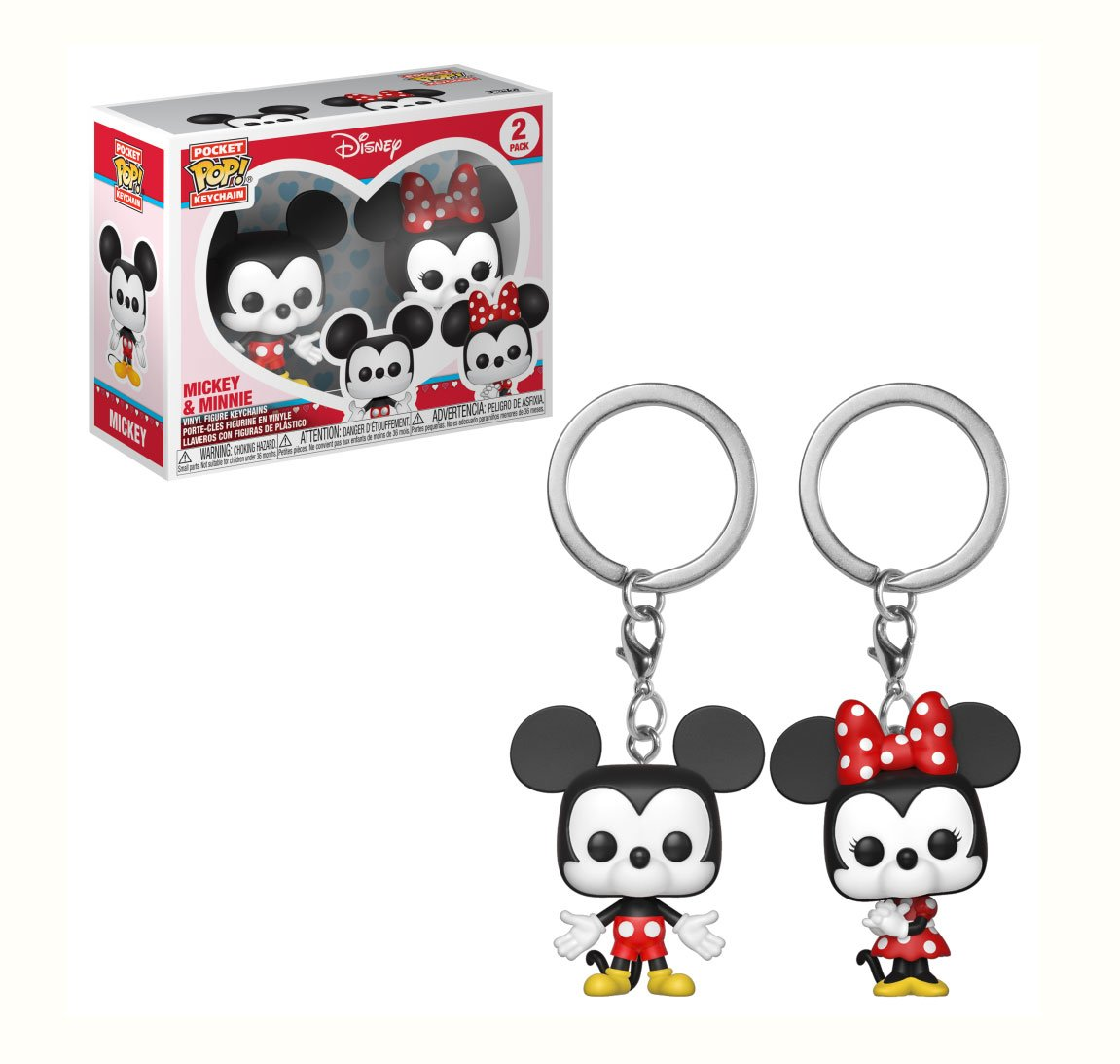 RT & follow @OriginalFunko for a chance to WIN a Mickey & Minnie Pocket Pop! keychain 2-Pack.