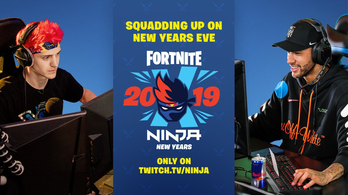 38f3aa15d5 celebrate new years with me watch me take on in fortnite starting at 4pm  est 6pm