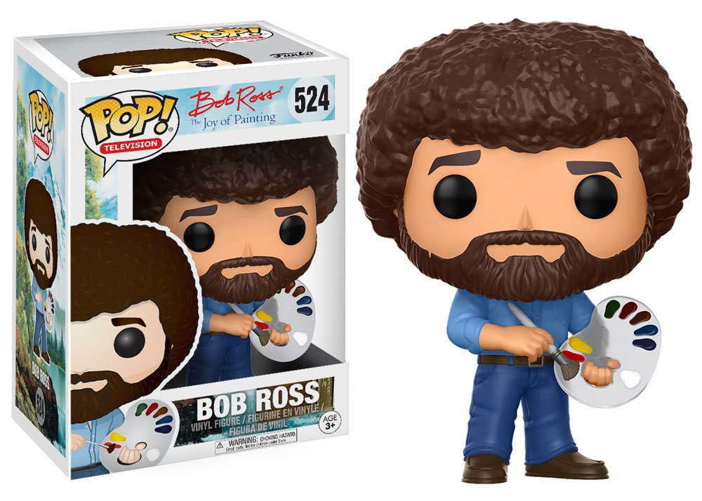 RT & follow @OriginalFunko for a chance to win a Bob Ross Pop!