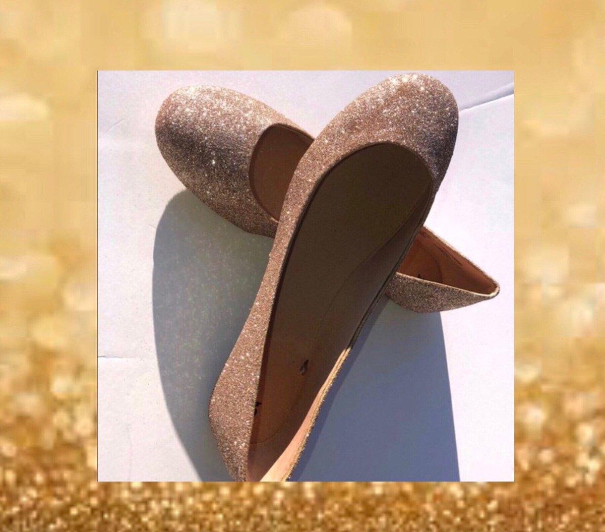 7911b73a4dcc ... Glitter Ballet Flats JCoDanseur Shoes  Free Shipping   women  shoes   gold  wedding  mothersday  bridesmaidflats https   etsy.me 2LO3IdP pic. twitter.com  ...