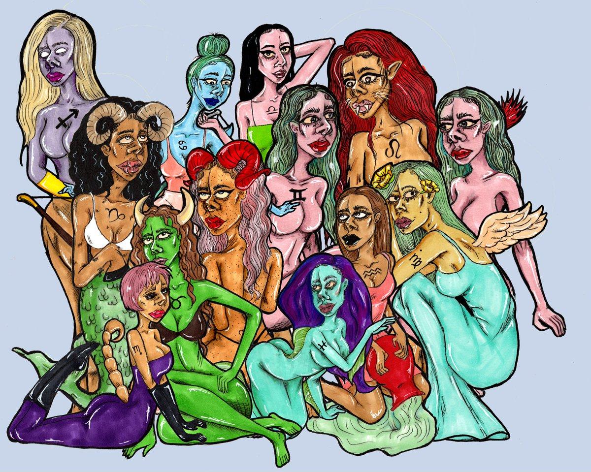 The Zodiac signs 💫