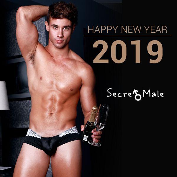 Bye Bye 2018! Happy new year!! #male #model #underwear #fashion #newyear