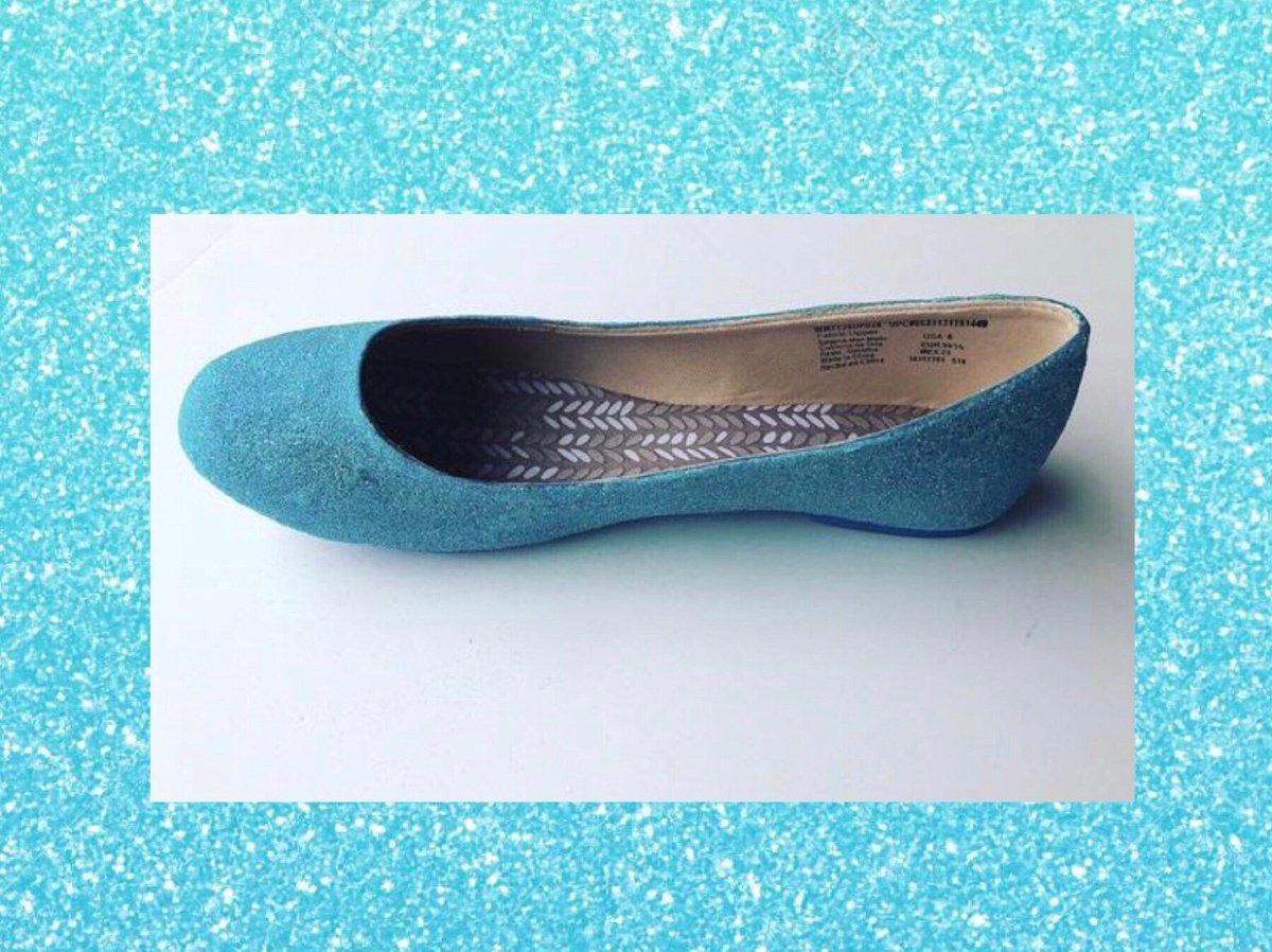 673c70305 Excited to share this item from my  etsy shop  Women Custom Turquoise Blue  Glittered Ballet Flats JCoDanseur Shoes  Free Shipping   shoes  women  blue  ...
