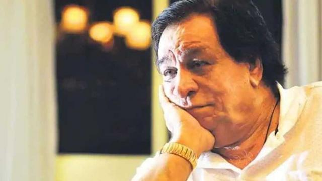 T 3045 - Kadar Khan passes away .. sad depressing news .. my prayers and condolences .. a brilliant stage artist a most compassionate and accomplished talent on film .. a writer of eminence ; in most of my very successful films .. a delightful company .. and a mathematician !!