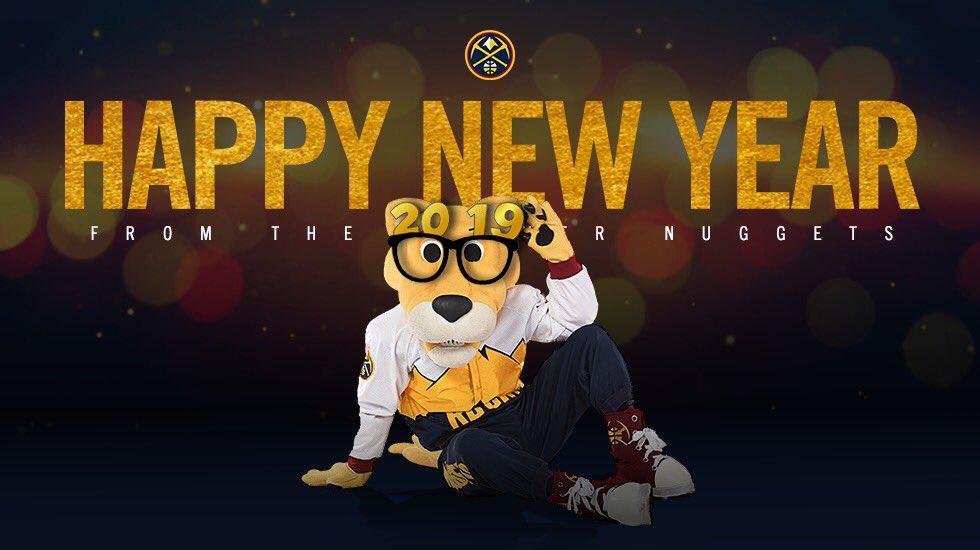 Happy New Years, #NuggetsNation!  #MileHighBasketball