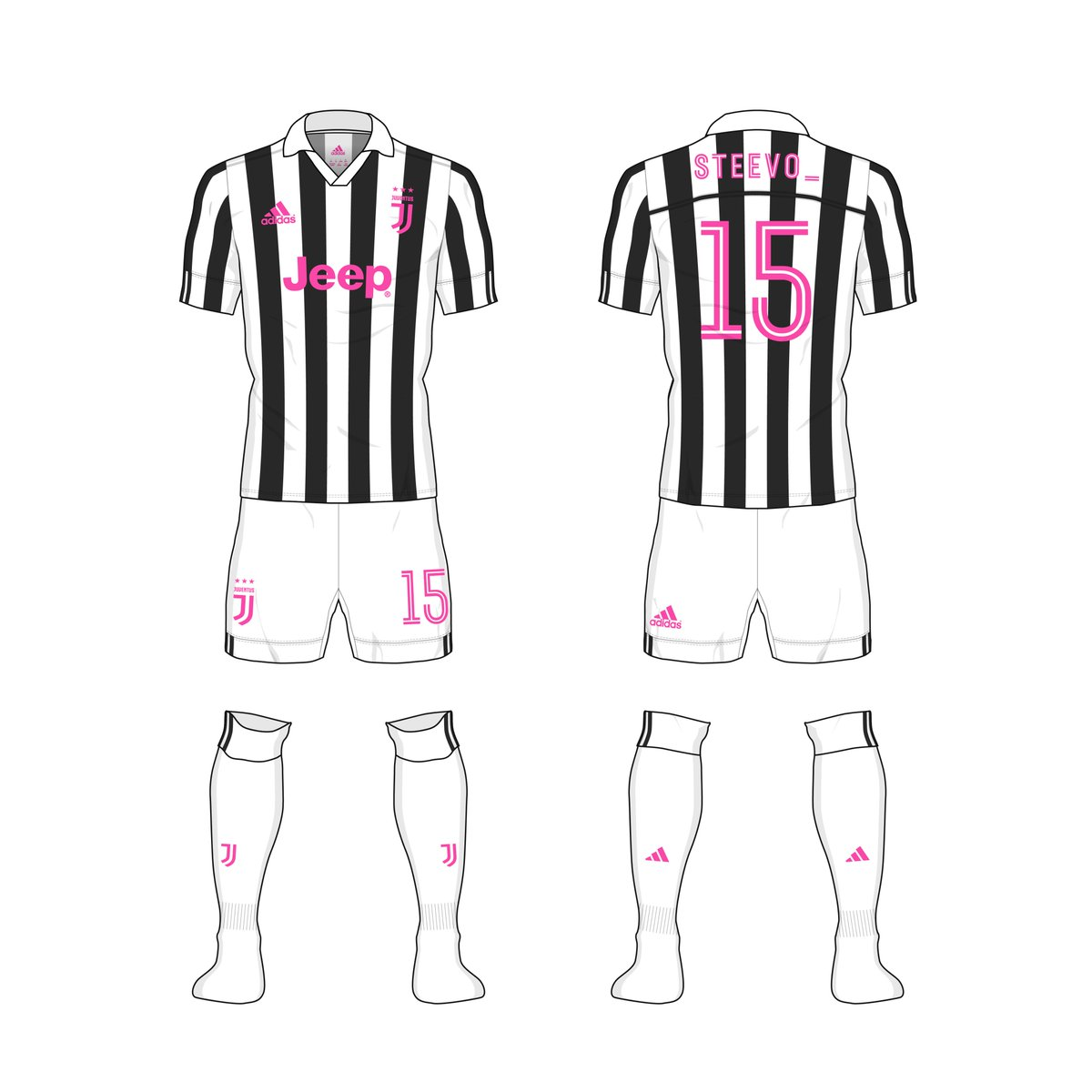 55ce4bdf Here's the finished #Juve kit. Let me know what you think. #kitnerd  #kitdesignpic.twitter.com/EnXyYvFV3p