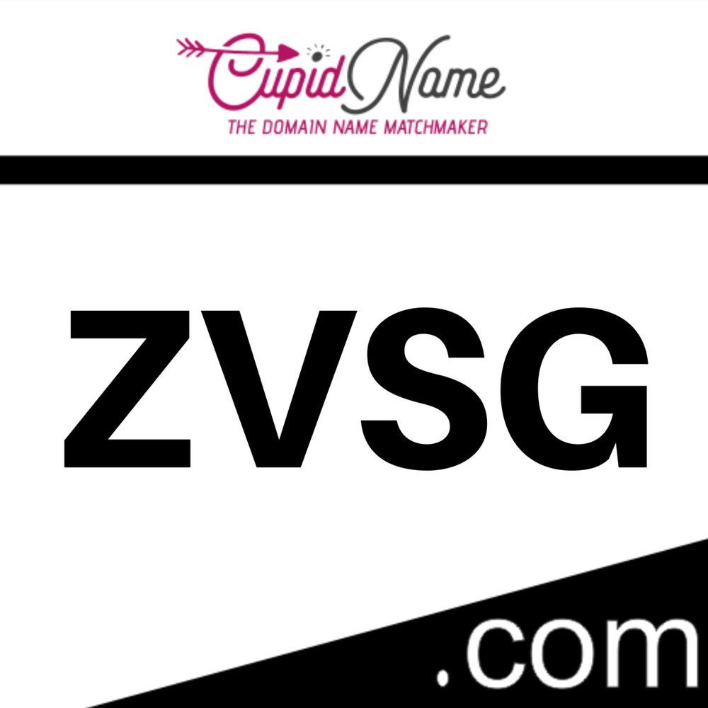 4 Letter .com #domain name for sale http://ZVSG.com available at https://buff.ly/2Mb5WUL <<< OWN IT! #startuplife #business #entrepreneur #startup #success ...