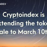 Image for the Tweet beginning: Dear community! Cryptoindex is extending