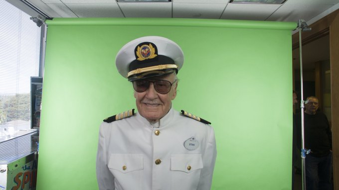 Stan never passed up an opportunity to wear a new hat, and that included his appearance as the ship Captain in a special 2017 @DisneyCruise shoot for their Marvel Day at Sea sailings! #NationalHatDay Photo