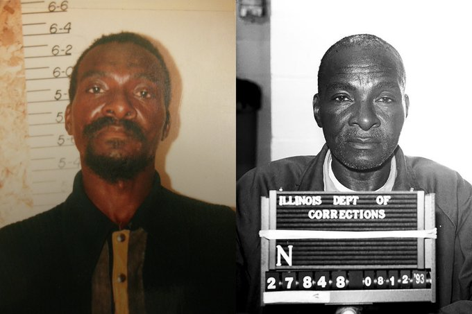 BREAKING NEWS: The #UISedu @InnocenceIL Project announced its12th exoneration today. Grover Thompson, who was wrongfully convicted of a 1981 attempted murder and died in prison in 1996, was granted executive clemency by former Gov. Bruce Rauner. More: https://t.co/IQaX41yyk8 https://t.co/mkSKifzlTD