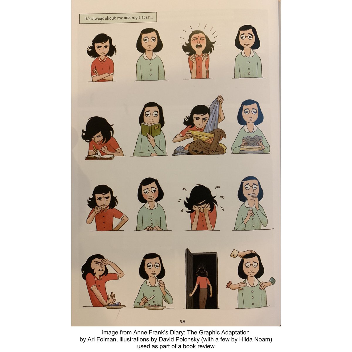anne franks diary the graphic adaptation
