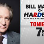 Image for the Tweet beginning: TONIGHT: @billmaher plays #Hardball. Tune