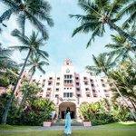 Image for the Tweet beginning: Two of #Waikiki's famous landmarks