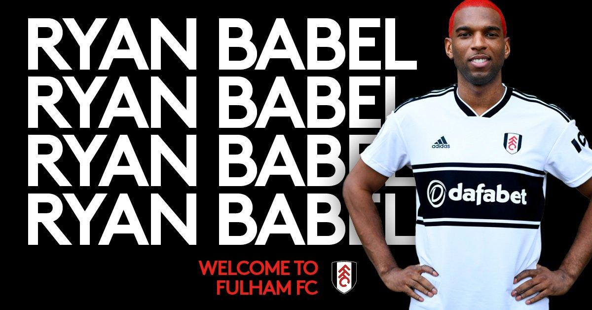 RT @PLFrance_: OFFICIEL : Ryan Babel rejoint Fulham jusqu'à la fin de la saison. https://t.co/dlLLzOBqvD