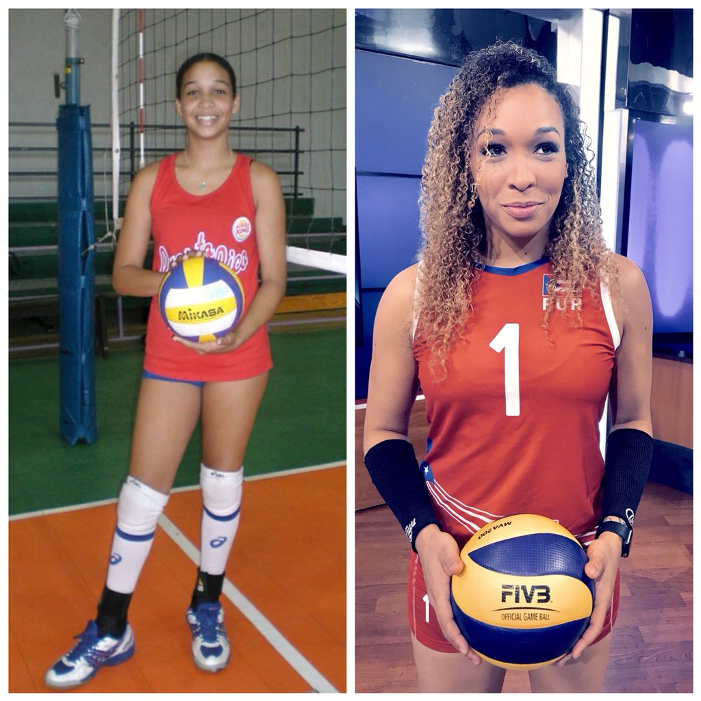 Had to do it! #10yearchallenge was driving me crazy. 🤷🏽♀️🤷🏽♀️ It's #GAMEDAY so no better day to share a picture of little Daly and see nothings changed. 😂Tune in to watch the 1st game of #CopaItalia through http://lvftv.com 💻👀 vs #Scandicci 🔥 tonight at 8:30(IT) 3:30(PR)