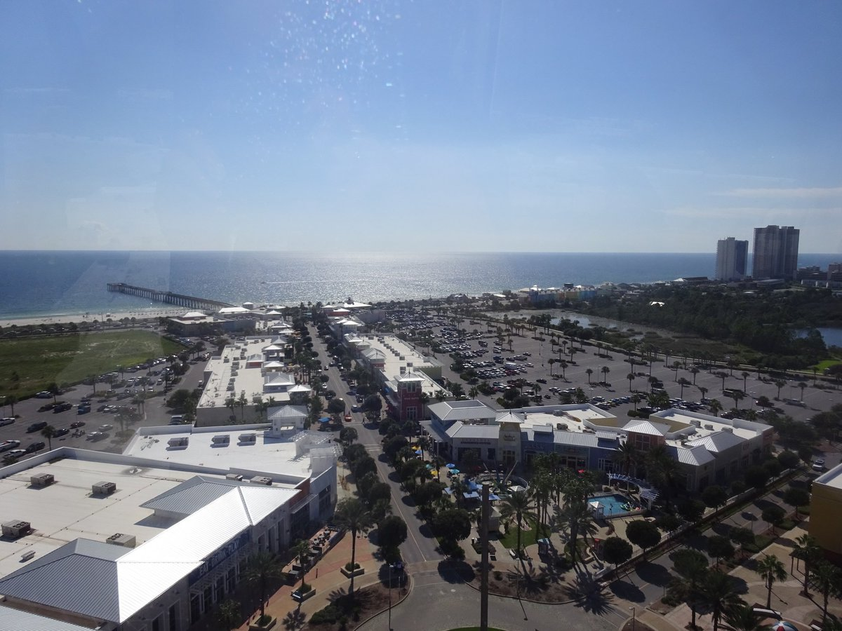 A4: Taking a trip on the SkyWheel to see 360 degree views of Panama City Beach!  #FLTravelChat #PanamaCityBeach <br>http://pic.twitter.com/jq0Fwmv94u